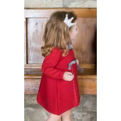 Vestido Rochy Punto Escoces Rojo