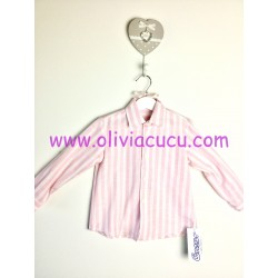 Camisa niño Ancar rayas rosas