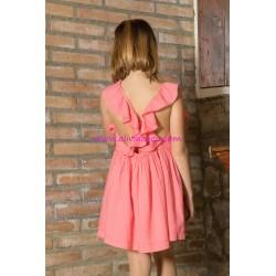 Vestido Plumeti Rain plumeti pink