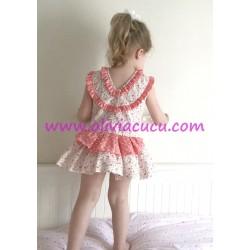 Vestido Mandarina Para Sofia