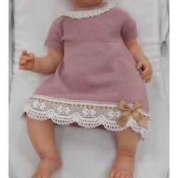 Vestido punto bebe sardon