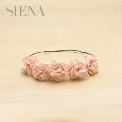 Corona Siena flor seca natural