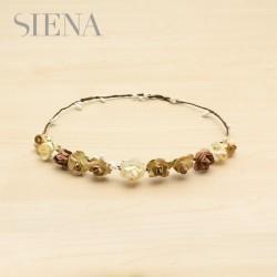 Corona Siena flores beige
