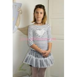 Conjunto Rochy falda tul