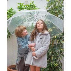 Abrigo Plumeti Rain gris