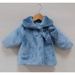 Abrigo Sardon pelito azul