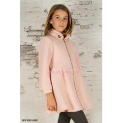 Abrigo Eve Children rosa