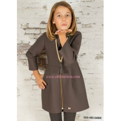 Abrigo Eve Children marron