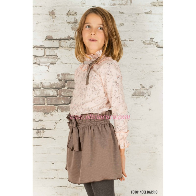 d326f19e4 conjunto eve children rosa marron