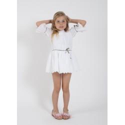 Vestido Young & Chic blanco de Kauli