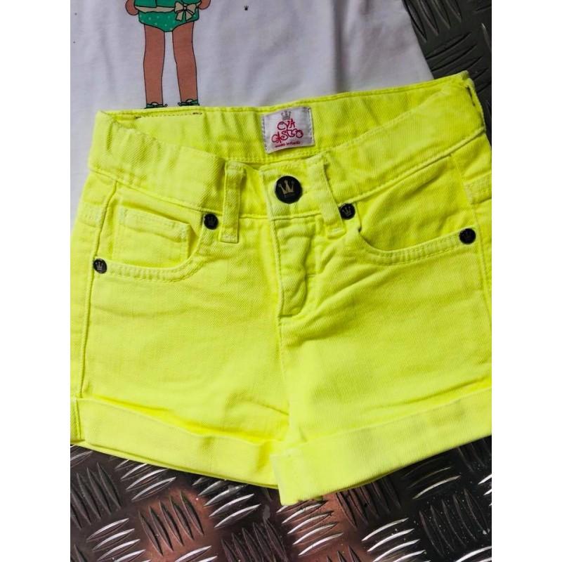 6430b95d5 short eva castro amarillo fluor