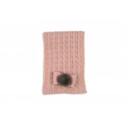 Bufanda Rochy rosa palo