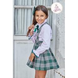 Pichi y blusa Eva Castro Anna