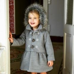 Abrigo Rochy gris