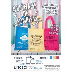 Bolsa Eco Solidaria contra  el cancer infnantil