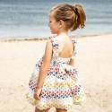 Vestido Rochy Perforado Multicolor espalda