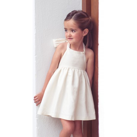 Vestido Parade de Eve Children beige