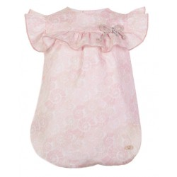 Pelele Shell de Eve Children estampado rosa