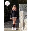 Conjunto Eva Castro niña Eliette con jersey