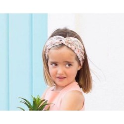 Cinta de pelo Peach de Eve Children estampada