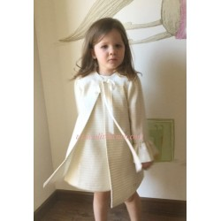 Abrigo Eve Children crudo/plata