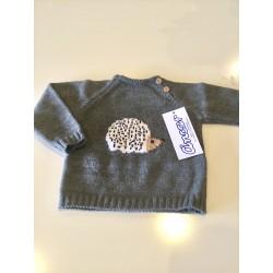 Jersey gris de Ancar erizo