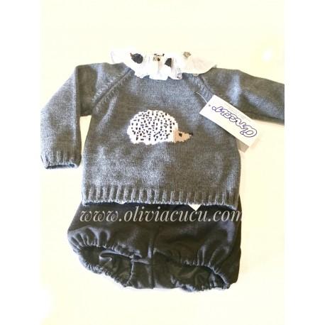 Conjunto de bebe Ancar erizo con jersey