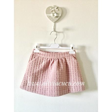 Falda Kenia rosa de Mami Maria