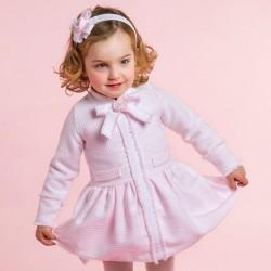 Vestido Rochy baby chanel rosa