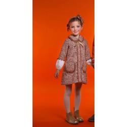 Vestido Rochy canela