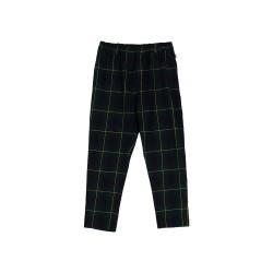 Pantalon tartan verde de N+V Nieves Alvarez para Villalobos