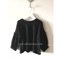 Jersey negro de N+V Nieves Alvarez para Villalobos
