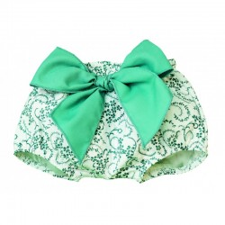 Culetin bebe estampado verde