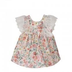 Vestido bebe estampado floral