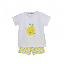 Conjunto baño niño limones